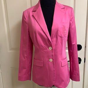 Lauren Ralph Lauren pink blazer